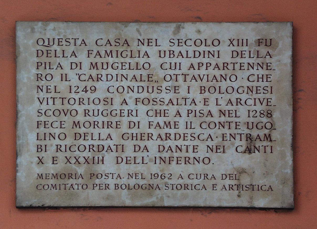 Ubaldini della Pila di Mugello - Storia e Memoria di Bologna