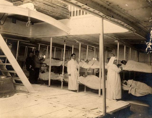 Le navi ospedale durante la grande guerra storia e - Letto in tedesco ...
