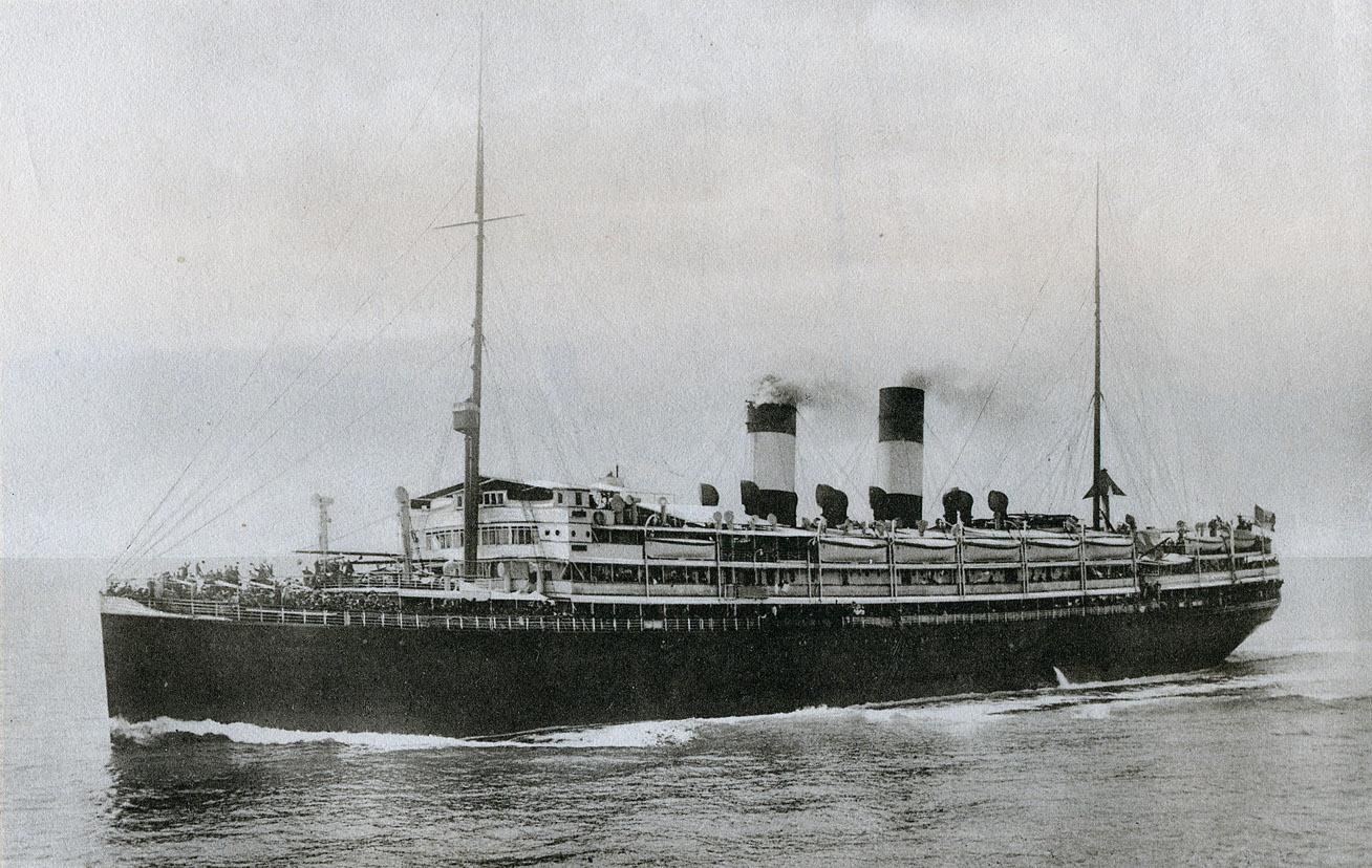 La Guerra In Adriatico L 226 Affondamento Del Piroscafo