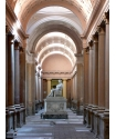 Certosa cemetery - Three naves gallery